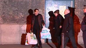 TF1/LCI : Cesare Battisti, à sa sortie de détention en 2004