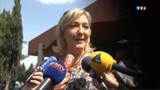 Le Pen promet de nouveaux tracts contre Mélenchon