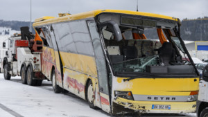 Bus scolaire accidenté dans le Doubs, 10/2/16