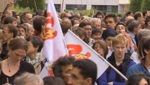 cnrs réforme manifestation