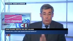 """Henri Guaino : """"Je ne peux pas moralement admettre qu'on soutienne M.Bayrou"""""""