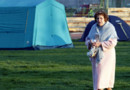 italie abruzzes l'aquila sinistrée tentes