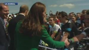 Kate et William au départ du Tour de France