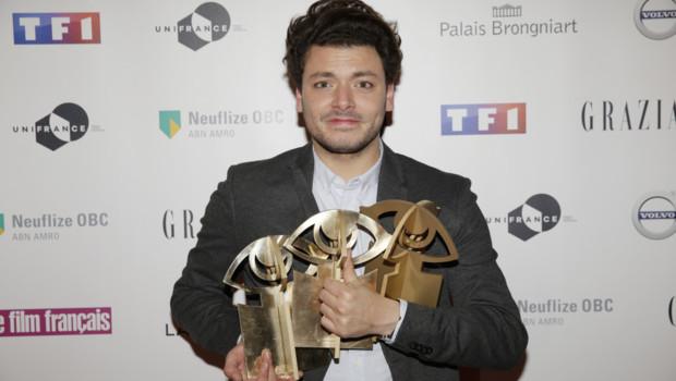 Kev Adams lors de la cérémonie des Trophées du Film Français le 2 février 2016