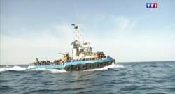 Le 20 heures du 19 juin 2015 : Migrants en Méditerranée : comment l'UE compte débusquer les passeurs - 212