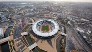 Le site des JO de Londres, le 5 décembre 2011