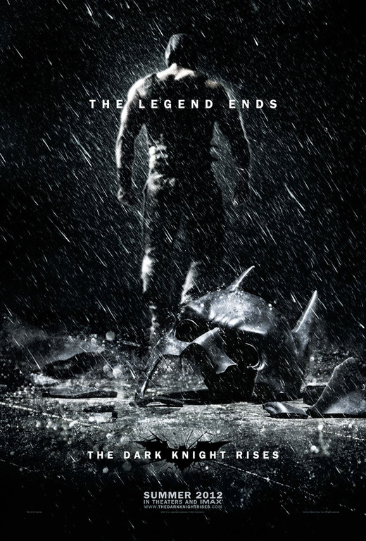 Poster The Dark Knight Rises de Christopher Nolan