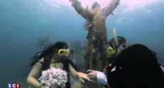 Un mariage sous l'eau en Floride