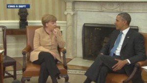 Angela Merkel Barack Obama