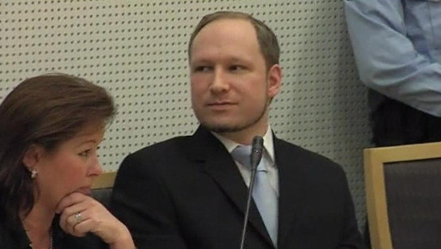 Anders Behring Breivik, au tribunal