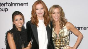 Eva Longoria Marcia Cross Felicity Huffman Desperate Housewives