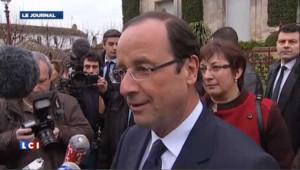 Hollande sur les pas de Mitterrand