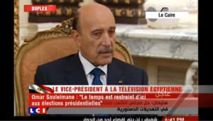 Le vice-président égyptien demande du temps