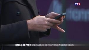 Opéra de Paris : une facture téléphone de... 52.000 euros