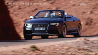 Essai No Limit Audi RS 5 Cabriolet Automoto 2013