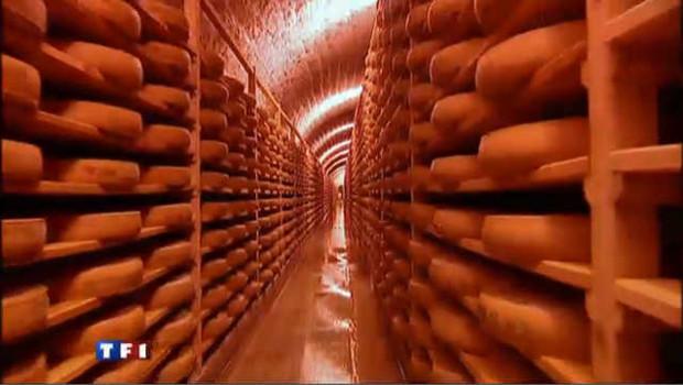 Du fromage dans le fort militaire des Rousses