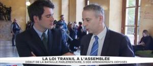 """Loi Travail : """"Si le texte évolue, on peut revoir notre position"""" précise Laurent Baumel"""