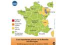 Météo France a placé les Vosges et la Meurthe-et-Moselle en vigilance orange mardi après-midi en raison des risques de crues.