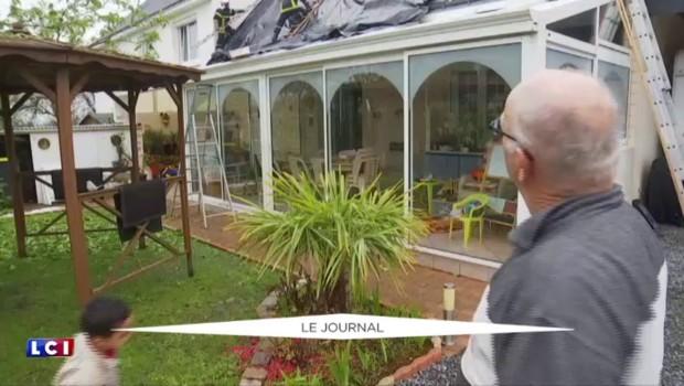 Saint-Nazaire : impressionnants orages de grêle, plusieurs interventions