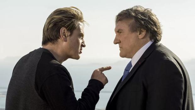 Benoît Magimel et Gérard Depardieu dans Marseille.