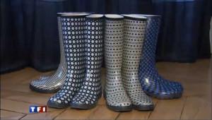 Les bottes de pluie, de la couleur à nos pieds