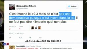 Loi Travail : Valls annonce l'utilisation du 49-3, les internautes en colère