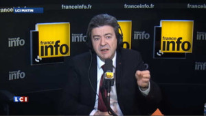 """Passer devant le Front National serait une étape immense"""" dit Mélenchon"""