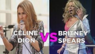 Céline Dion VS Britney Spears, le match des divas