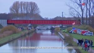 Déraillement d'un TGV : la vitesse mise en cause