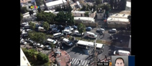 Diapo Attentat Tel aviv bus isral