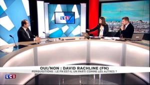 """Le siège du FN perquisitionné : """"Nous sommes des victimes"""", selon Rachline"""