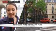 Paris : l'enfant foudroyé au Parc Monceau, toujours entre la vie et la mort