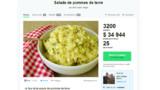 Une salade de pomme de terre à plus de 25 000€