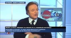 """Bruno Le Roux """"contre une primaire"""" en 2016"""