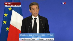 "Sarkozy : ""Il n'y aura aucun accord local ou national"" avec le FN au second tour"