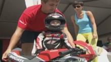 Timur Kuleshov, le plus jeune pilote (04/08)