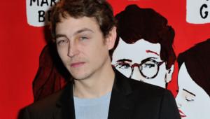 L'acteur Vincent Rottiers à Paris en janvier 2015