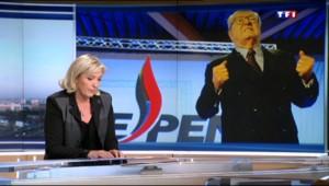 """Marine Le Pen : Jean-Marie Le Pen n'est plus """"la meilleure locomotive"""" pour les régionales en Paca"""