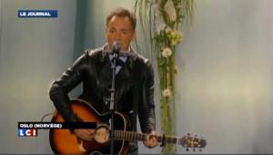 Tueire d'Oslo : l'hommage de Bruce Springsteen