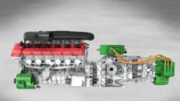 Ferrari moteur V12 hybride Pékin