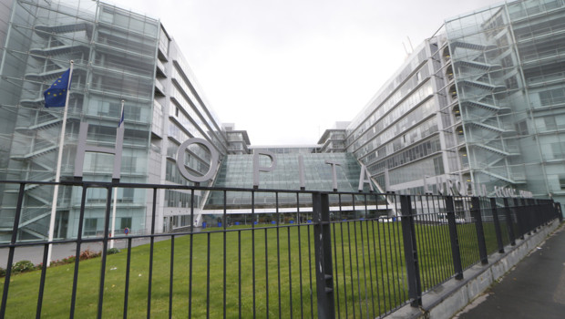 L'hôpital Georges-Pompidou à Paris