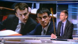 """Le 13 heures du 18 février 2015 : Loi Macron : """"Le diable se cachait dans les détails mais aussi dans le vote"""", l'édito de Jakubyszyn - 578.555"""