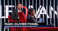 "Marc-Olivier Fogiel : ""Morandini ? Je ne sais pas qui c'est"""