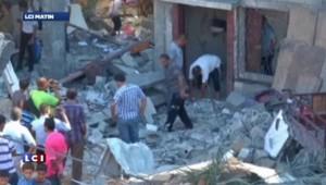 L'aviation israélienne a mené 160 raids dans la bande de Gaza