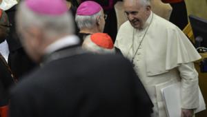 Le pape François au synode sur la famille le 6.10.14