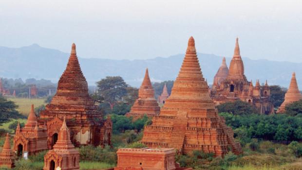 Buddhist temples, Bagan, Myanmar