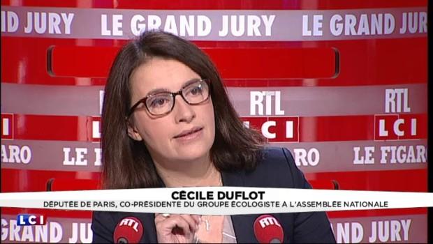 """Cécile Duflot : """"Manuel Valls a falsifié mes propos"""" sur Vichy"""
