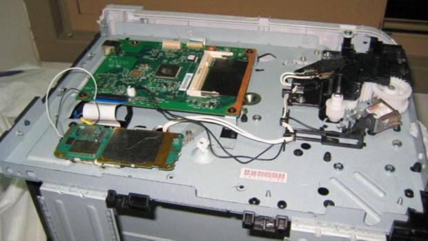 Dispositif explosif dissimulé dans une imprimante, et expédié aux Etats-Unis (30/10/2010)