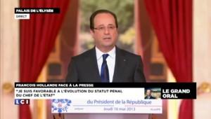 Hollande s'oppose à la formation d'un gouvernement d'union nationale