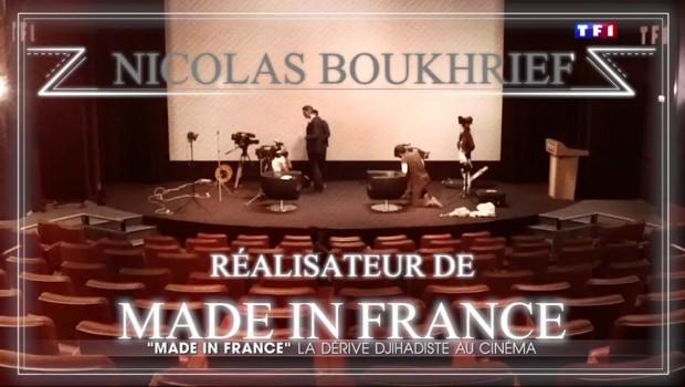 """""""Made in France"""" : """"Ce n'est qu'un film"""", raconte Nicolas Boukhrief"""
